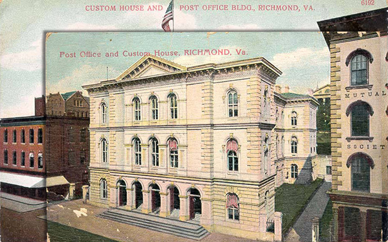 Post Office and Custom House, Richmond, Virginia