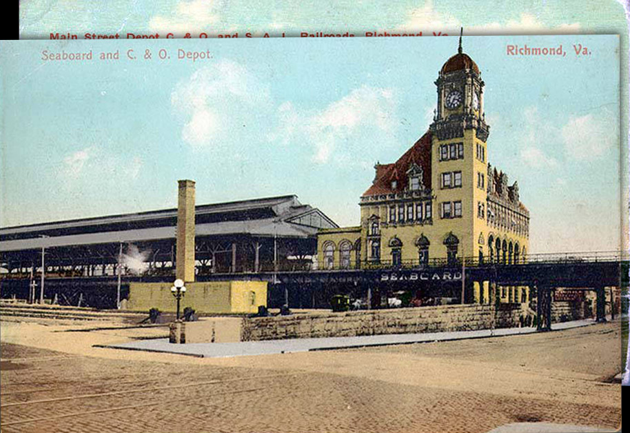 Seaboard and C. & O. Depot, Richmond, Virginia