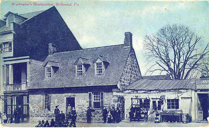 Washintgon's Headquarters, Richmond, Virginia