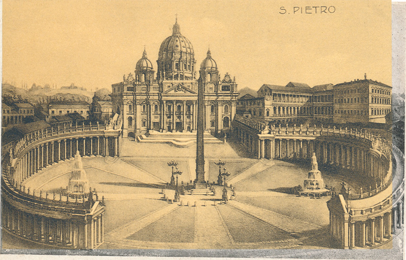 Piazza e Basilica di San Pietro, Italy