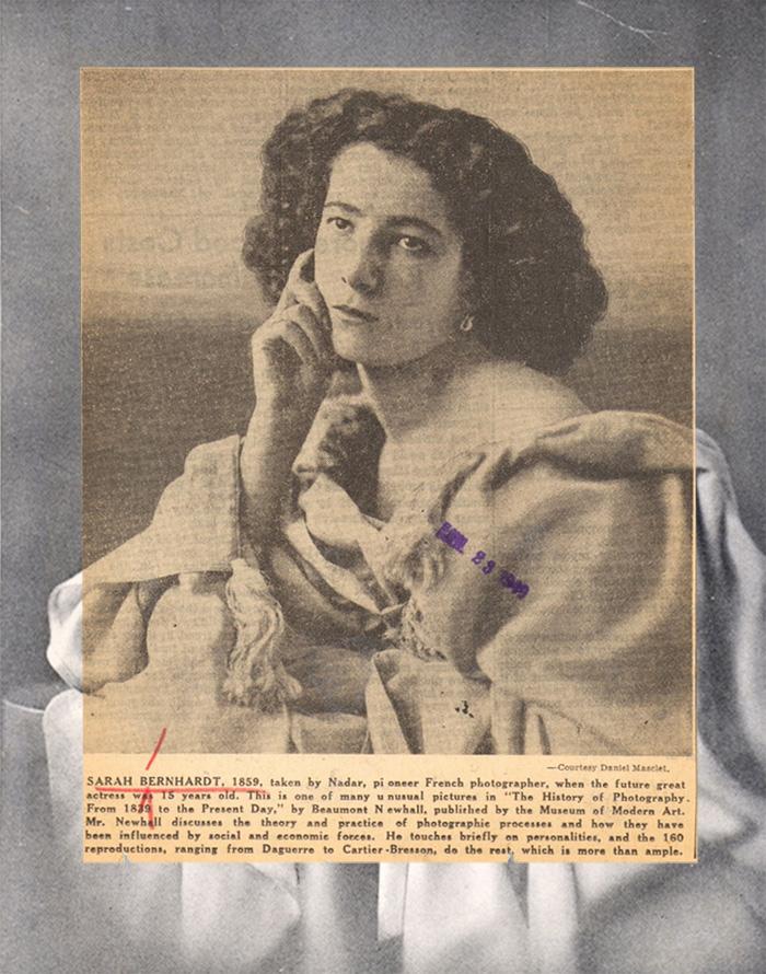 Sarah Bernhardt in 1859