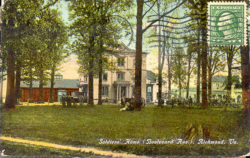 Soldiers' Home, Boulevard Ave, Richmond, Virginia