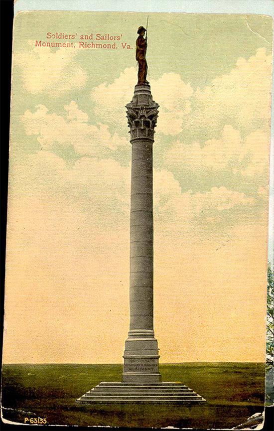 Soldiers' and Sailors' Monument, Richmond, Virginia