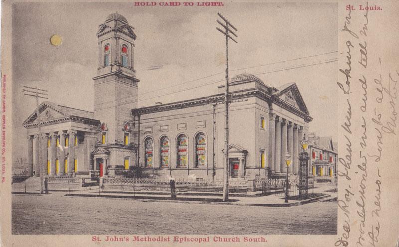 St. John's Methodist Episcopal Church South, St Louis, Missouri