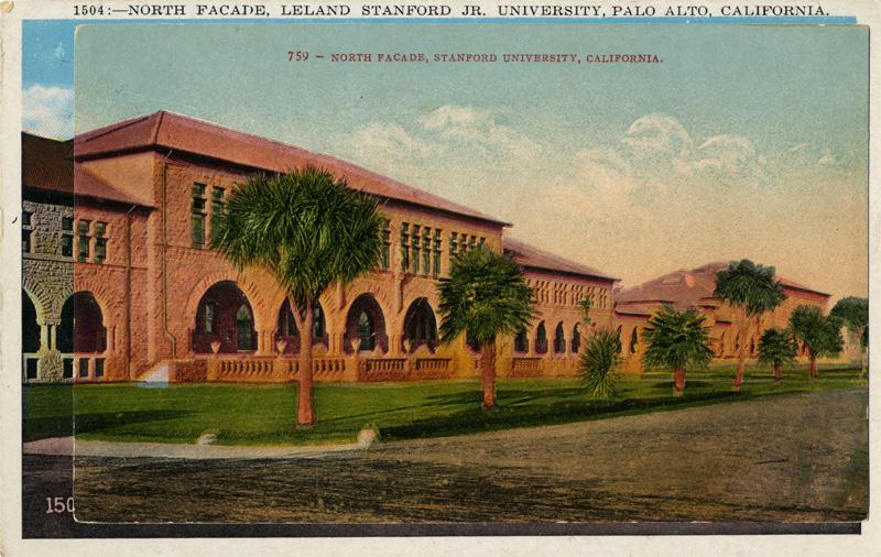 North Facade, Stanford University, Palo Alto, California