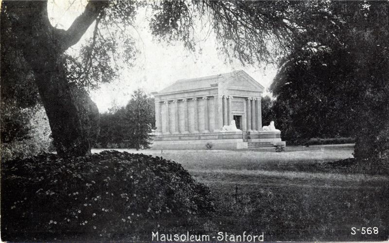 Mausoleum, Stanford University, California