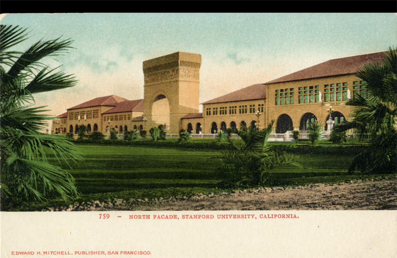 North Facade, Stanford University, California