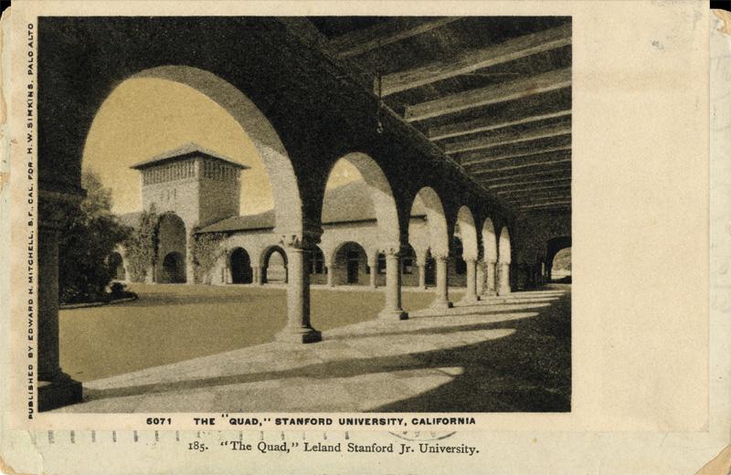The Quad, Stanford University, California