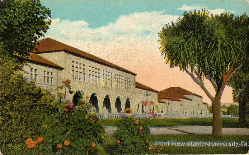 Front View, Stanford University, California