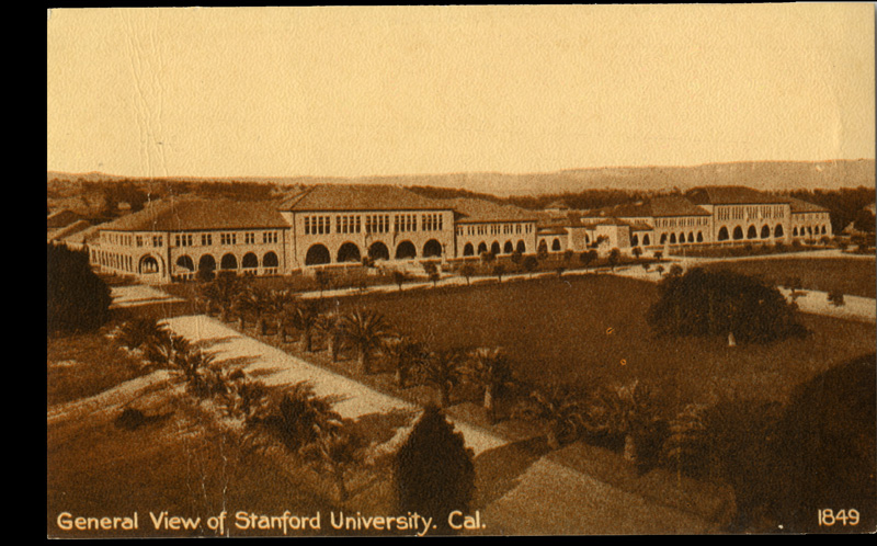 General View of Stanford University, California