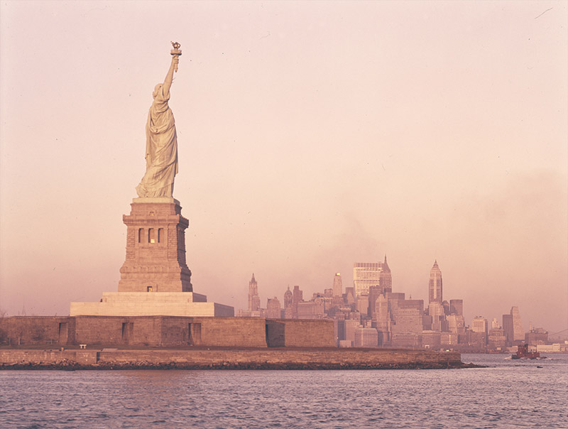 Statue of Liberty, New York, scanned by SMU Central University Libraries