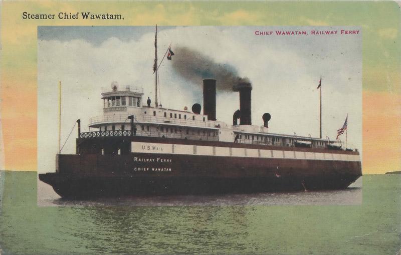 Steamer Chief Wawatam Railway Ferry