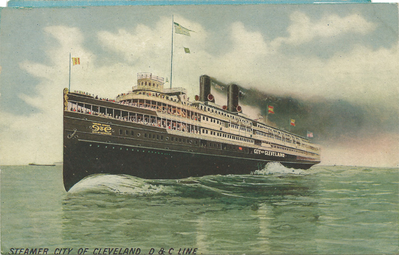 Steamer City of Cleveland, D&C Line