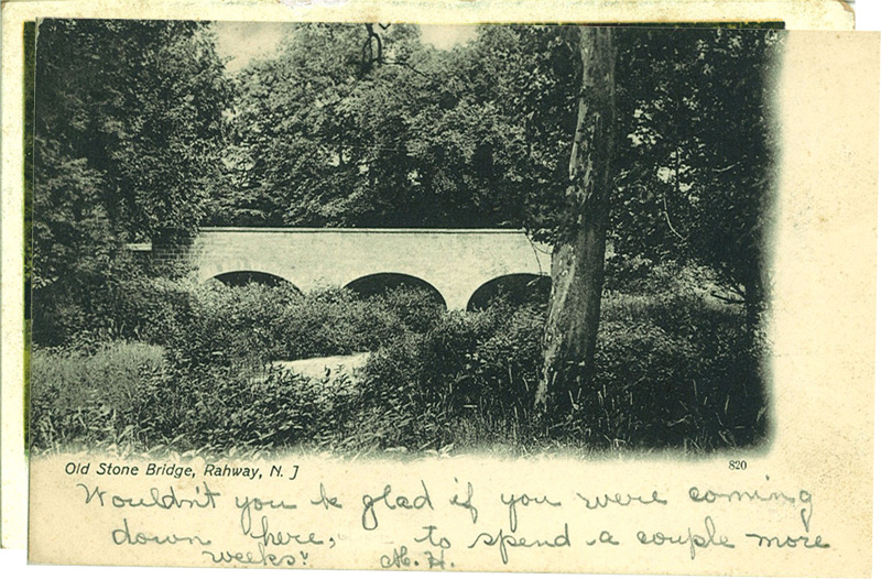 Old Stone Bridge, Rahway, New Jersey