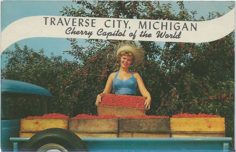 Traverse City, Michigan, Cherry Capitol of the World