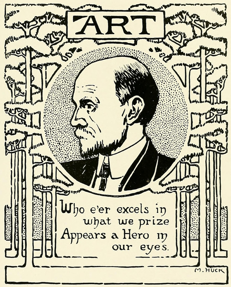 From Tulane's 1916 yearbook
