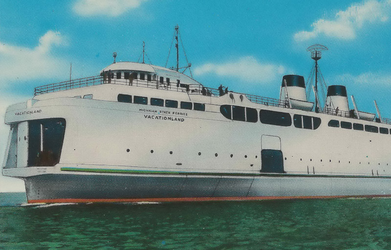 Vacationland, Michigan State Ferries