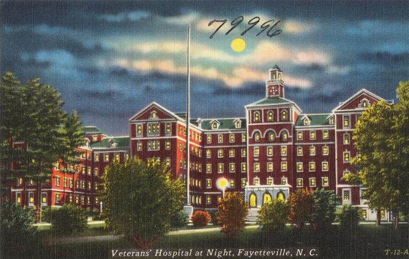 Veterans' Hospital, Fayetteville, North Carolina