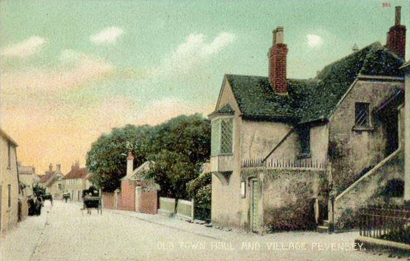 Old Town Hall and Village Pevensey