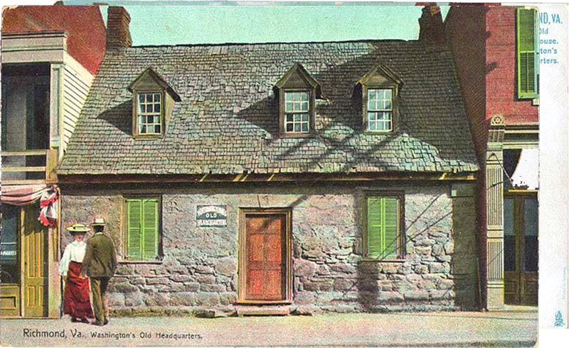 Washington's Old Headquarters, Richmond, Virginia