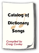 Catalog of Dictionary Songs