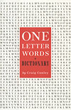 """One-Letter Words: A Dictionary"" (Amazon.com)"