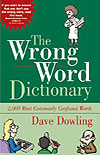 """The Wrong Word Dictionary"" (Amazon.com)"